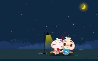 月亮下的浪漫xp主题