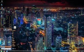 迷人的城市风景迷人的城市风景