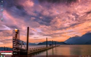 加拿大哈里森湖唯美自然