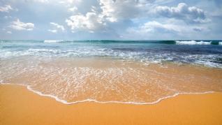 唯美海滩风景壁纸